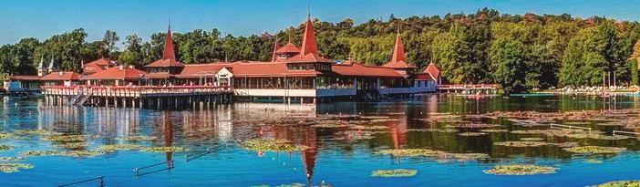 Озеро Хевиз - бальнеологический курорт Венгрии, принимает посетителей летом и зимой